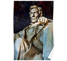 Lincoln Memorial Digital painting Poster