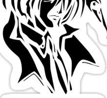 The Fallen Angel (black edition) Sticker