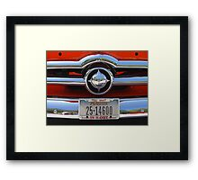 Ford Bullet Framed Print