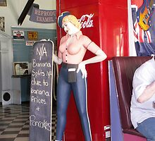 The 50's Diner 3 by Antonia Newall
