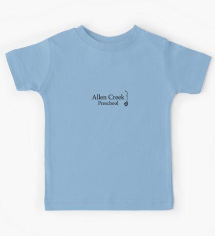Allen Creek Logo: Large Kids Tee