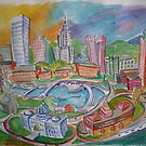 Providence, Rhode Island.... A Colorful City by nancy salamouny