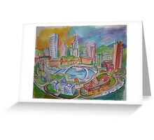 Providence, Rhode Island.... A Colorful City Greeting Card