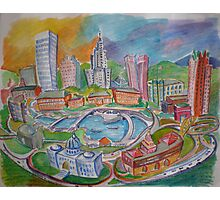 Providence, Rhode Island.... A Colorful City Photographic Print
