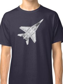Mig 29 Fighter Plane Classic T-Shirt