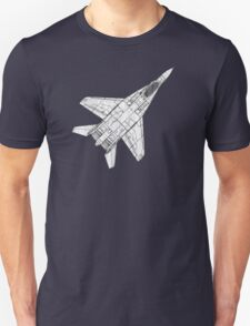 Mig 29 Fighter Plane Unisex T-Shirt