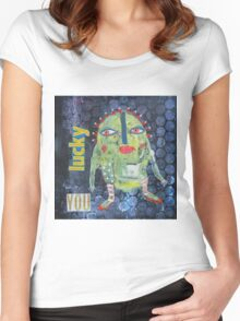 May 14 Number 21 Women's Fitted Scoop T-Shirt