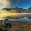 Beached Rock - Hawkesbury River by Jeff Catford