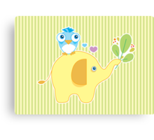 [ A Friendly Fable ] ♥ Canvas Print