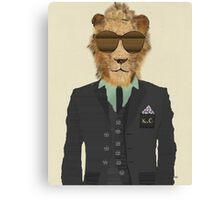 mr king cool Canvas Print
