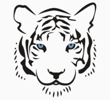 Feng shui white tiger by agustindesigner
