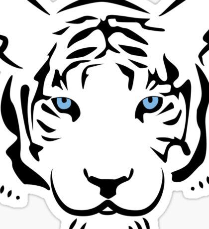 Feng shui white tiger Sticker