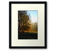 what a great start Framed Print
