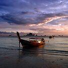 Krabi sunset by Tom  Marriott
