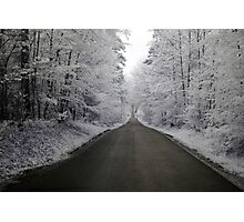 Way in infrared Photographic Print