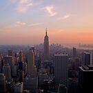 Empire sunset by Tom  Marriott