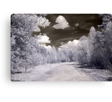 Way in infrared Canvas Print