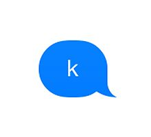 """k"" iMessage by LizzieElliott"