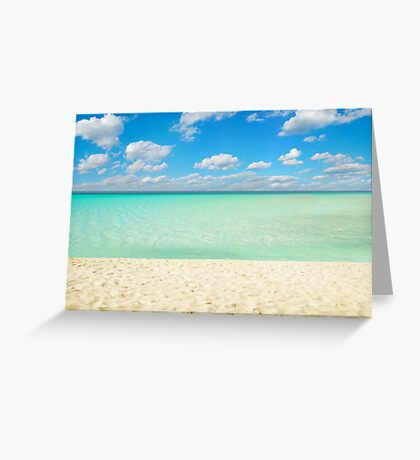 Varadero Beach, Cuba Greeting Card