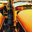 School Bus by Tom  Marriott