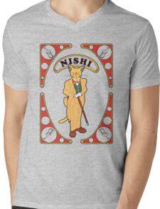 The Magic Cat Mens V-Neck T-Shirt