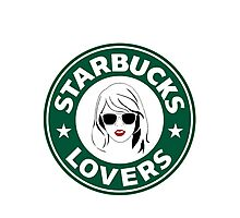 Starbucks Lovers Photographic Print