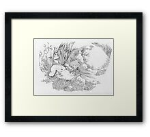 Rest In The Forest Framed Print