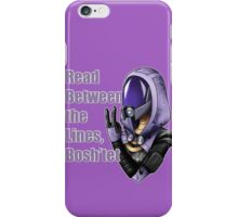 Between the Lines, Bosh'tet - Tali iPhone Case/Skin
