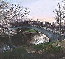 Charles River Esplanade 4 by Ken Coleman