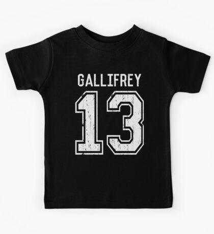 GALLIFREY TIME LORDS Kids Tee