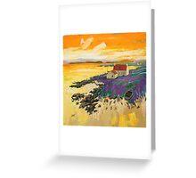 Shore Croft, Barra Greeting Card
