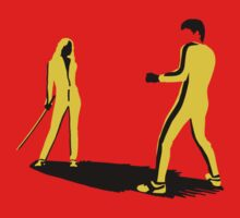 The Yellow Suit Fight T-Shirt
