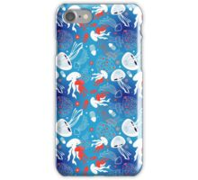 graphic pattern jellyfish iPhone Case/Skin