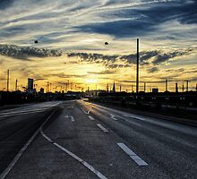 Industrial Sunset by Georg Wacker