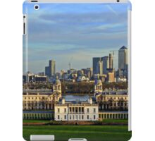 Greenwich Royal Naval Museum and Canary Wharf iPad Case/Skin