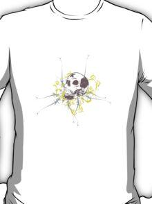 Art Flourish Skull Tee T-Shirt