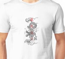 Dragon Faded Kanji Unisex T-Shirt
