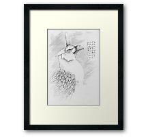 Nafarie Guardian Of Earth & Sky Framed Print