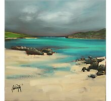 Vatersay and Barra Photographic Print