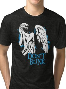Doctor Who Don't Blink Tri-blend T-Shirt