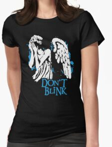 Doctor Who Don't Blink Womens Fitted T-Shirt