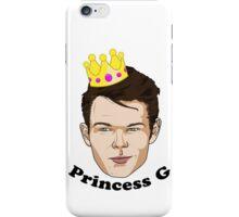Princess G - Black Text iPhone Case/Skin