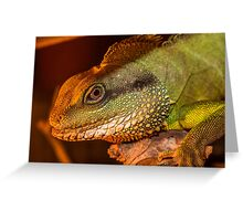 Water Dragon 2 Greeting Card