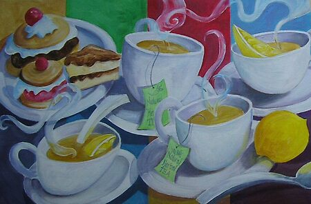 Tea Time Detail