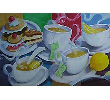 Tea Time Detail Photographic Print