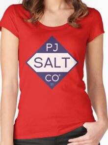 PJ SALT CO(R) Women's Fitted Scoop T-Shirt