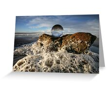 Spume Greeting Card