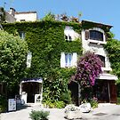 Saint-Paul de Vence - Flowered house  by presbi