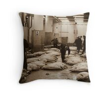 Time Blurred Throw Pillow