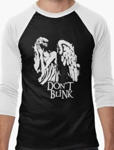 Doctor Who Don't Blink Men's Baseball ¾ T-Shirt